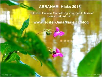 ABRAHAM Hicks 2018